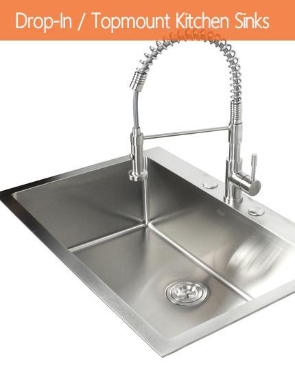 Drop-In / Topmount Kitchen Sinks