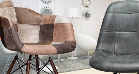 Fabric Upholstered Accent Chairs