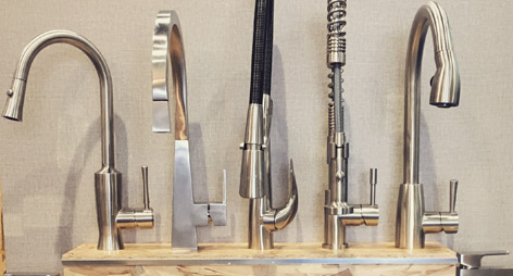 Stainless Steel Made Kitchen Faucets